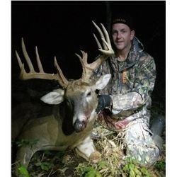 6 day Missouri whitetail deer hunt (1 Buck, 1Doe, 2 Turkeys Each) for 2 hunters