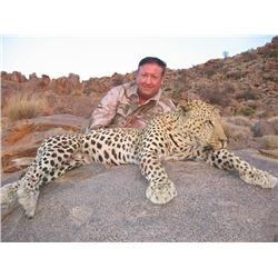 Trophy Leopard Hunt in Namibia