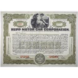 Hupp Motor Car Corp., 1915 Specimen Stock Certificate