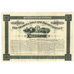 Georgia Loan & Trust Co., 1885 I/C Bond