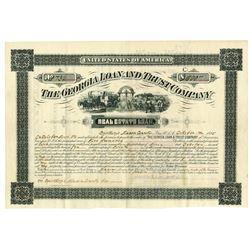Georgia Loan & Trust Co., 1885 I/C Bond