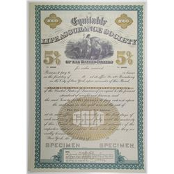 Equitable Life Assurance Society, ND (1900-1920) Specimen Bond