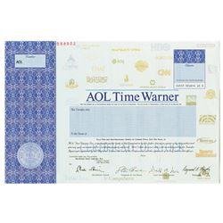 AOL Time Warner Inc. 2001 Specimen Stock Certificate