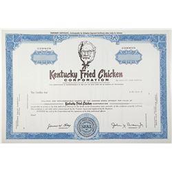 Kentucky Fried Chicken Corp., ca.1966-67 IPO Specimen Stock Certificate