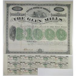Glen Mills 1880 I/U Bond From Well Known Paper Manufacturer