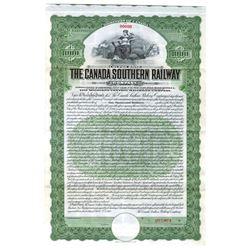 Canada Southern Railway Co., 1912 Specimen Bond