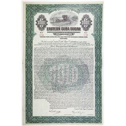 Eastern Cuba Sugar Corp. 1922 Bond