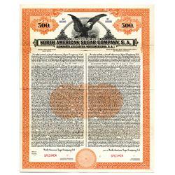 North American Sugar Co., 1923 Specimen Bond