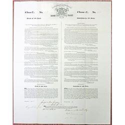 Poyaisian Scam Land Grant, 1834 I/U Signed by Sir Gregor MacGregor