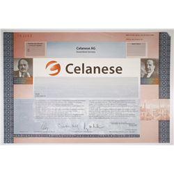 Celanese AG 2000 Specimen Stock Certificate