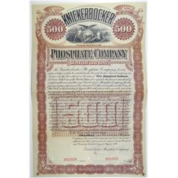 Knickerbocker Phosphate Co. 1894 Specimen Bond