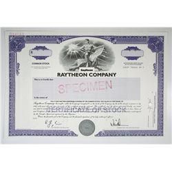 Raytheon Co. 2005 Specimen Stock Certificate