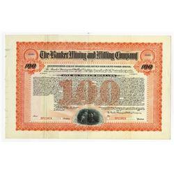 Banker Mining and Milling Co. 1904 Specimen Bond