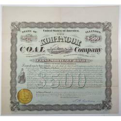 Koh-I-Noor Coal Company, 1877 I/U 10% Bond