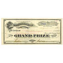 Grand Price Mining Co. Stock Certificate