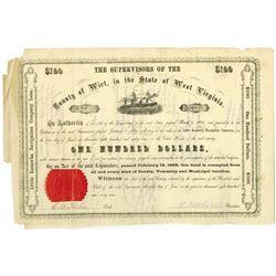 Little Kanawha Navigation Co. 1869 I/C Bond