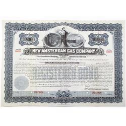 New Amsterdam Gas Co., 1898 Specimen Bond