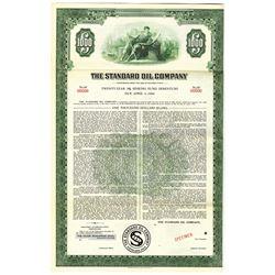 Standard Oil Co. 1948 Specimen Bond
