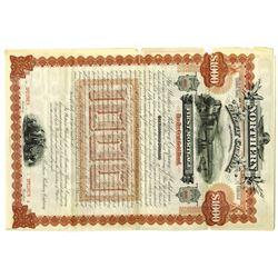 Northern Railway Co. of California 1888 Specimen Bond Rarity