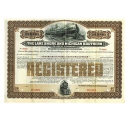 Lake Shore and Michigan Southern Railway Co. 1903 Specimen Bond
