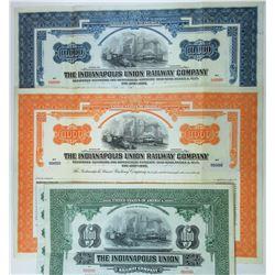 Indianapolis Union Railway Co., 1930 Trio of Bonds