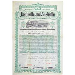 Louisville and Nashville Railroad Co. 1888 Specimen Bond Rarity