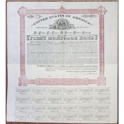 Toledo, Ann Arbor & Mt. Pleasant Railway Co. 1886 I/U Bond