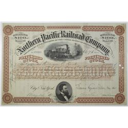 Northern Pacific Railroad Co., 1906 I/U Stock Certificate