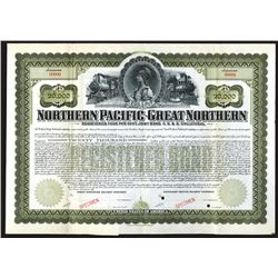 Northern Pacific-Great Northern Railway Co., 1901 Specimen Bond.
