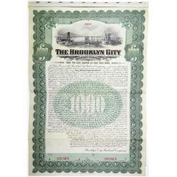 Brooklyn City Railroad, 1906 Specimen Bond