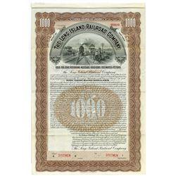 Long Island Railroad Co. 1903 Specimen Bond.