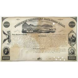 Northern Liberties Railroad Loan, 1851 I/C Bond