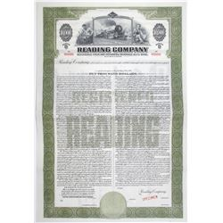 Reading Co. 1945 Specimen Bond