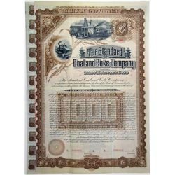 Standard Coal & Coke Co. 1887 Specimen Bond