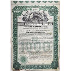 West Virginia Midland Railroad Co., 1906 I/U Bond