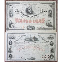 Loan of the City of Philadelphia, Water Loan, I/C Bond Pair
