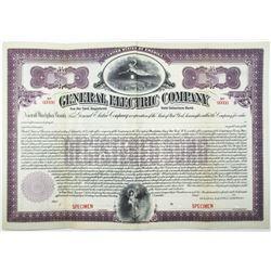 General Electric Co. 1912 Specimen Bond
