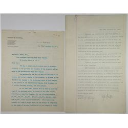 ABN Purchase of Franklin Lee BNC, 1904 Purchase Contract & Documents Group of 8.