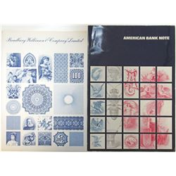 Bradbury Wilkinson & Co. Ltd. and American Bank Note Co., 1970-80's Advertising Booklet Pair