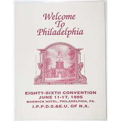 86th Convention of the International Plate Printers, Die Stampers & Engravers Union 86th Convention