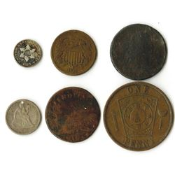 Collection of Early American Coins, ca. 1798-1880s