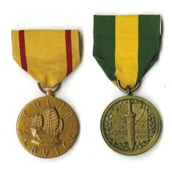 U.S. Navy and Marine Corps Service Medal Pair