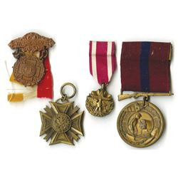U.S. Military Medal Quartet, ca.1900-1970