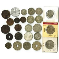 Germany, British West Africa, Bolivia and  a Wide Variety of World Coins, ca. 1800-1900's.