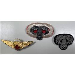 Canadian Parachutist WW II Medals Trio.