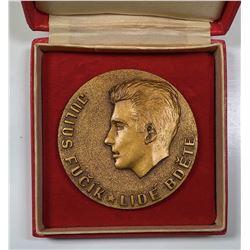 Julius Fu_'k Commemorative Medal