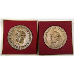 Germany, Hans Beimler Medals Pair, ca.1956-70.