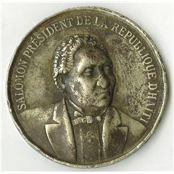Exposition Nationale d'Haiti 1881 1st Class Medal