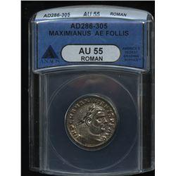 Maximianus. 286 - 305 AD. AE Follis