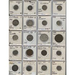 Australia & South Africa - Lot of 40 Coins